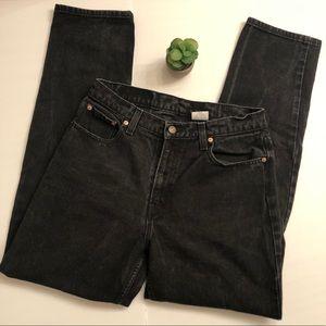 Rare Vintage Jordache Black High Rise Mom Jeans